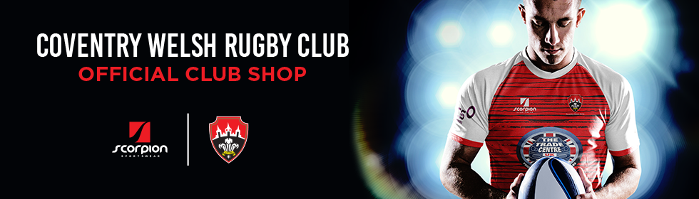 Coventry Welsh Rugby Kit Shop