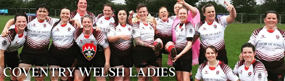 Coventry Welsh Ladies kit