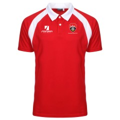 Red/White Coventry Welsh Performance Polo