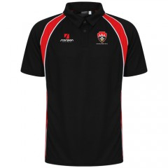 Black/Red Coventry Welsh Performance Polo