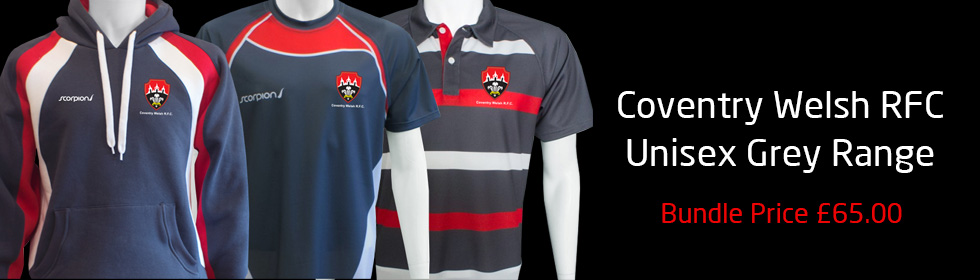 Coventry Welsh Rugby Kit